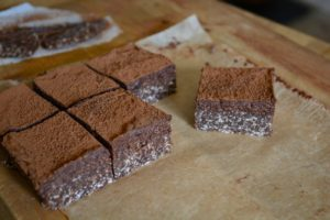 Raw brownie nötfri